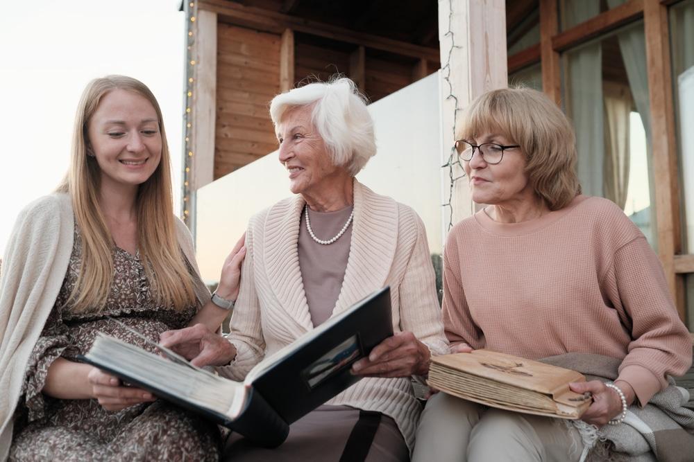 Sharing memories with grandma to celebrate Memorial Day